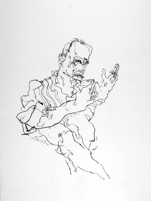 Portrait Antonio Saura