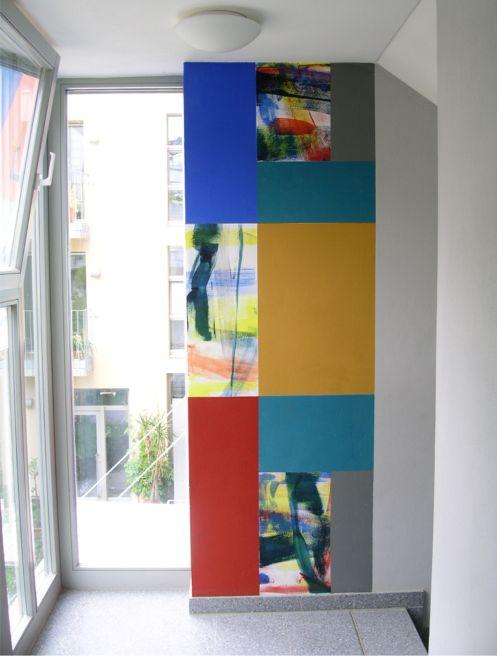 Wandmalerei Kunst und Wohnen